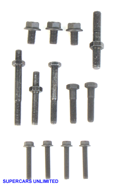 Timing Cover  Water Pump Bolt Kit