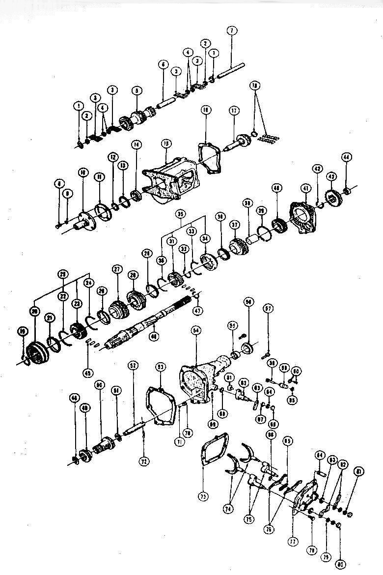 muncie m21 transmission diagram